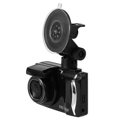 GT800 1080P FHD 140 Degree Wide Angle Car DVR