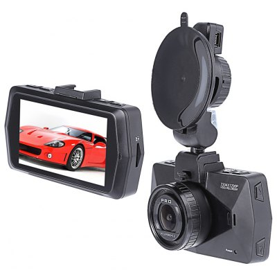 B47FS 1296P Super HD 170 Degree Car DVR
