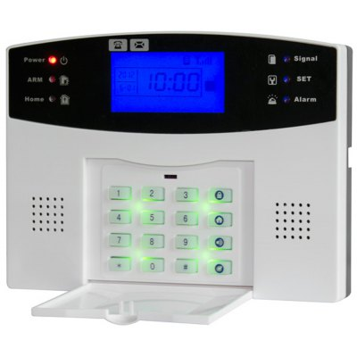 GSM30A Wireless GSM Alarm System Auto Dialer SMS Support with LCD Display
