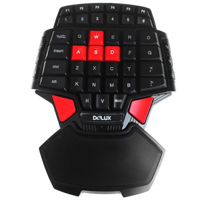 Delux T9 Wired USB Gaming Keyboard
