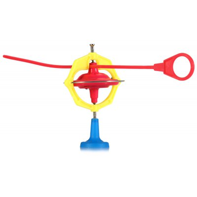 7cm Diameter High Speed Magic Peg-top Gyroscope Kid Toy