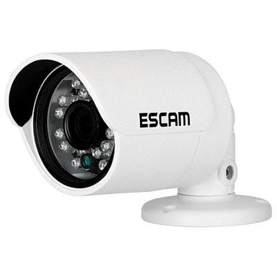 ESCAM QD310 3.6mm Lens 1/4 inch 1MP Progressive CMOS Goblet Camera with 24pcs 5mm Diameter IR Leds and 15m Range Support Day and Night