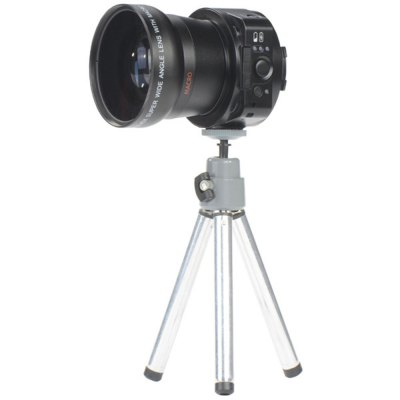 Фотография AMKOV LENS  -  OX5 1080P WIFI H.264 / MOV 20 Mega Pixels Camera Lens 120 Degrees Wide Angle