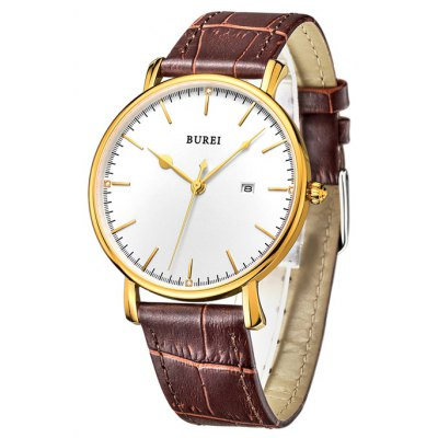 BUREI Men Quartz Watch