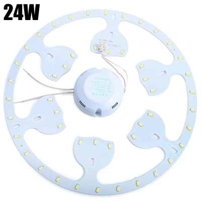 3 x 24W 1350Lm SMD 5730 Round LED Ceiling Lamp Fixture
