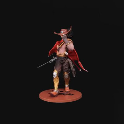 Static Figure Model PVC Figurine Online Game Character Toy