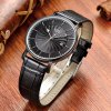 cheap BUREI Simple Fashion Ultra-thin Dial Men Quartz Watch