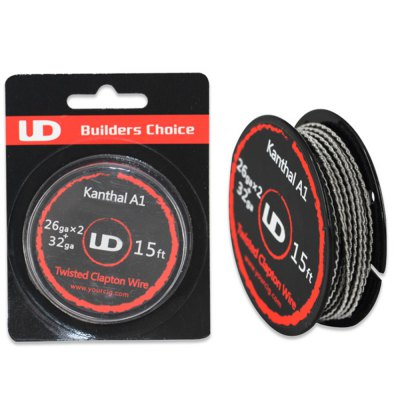 Original Youde UD 26ga x 2 + 32ga Kanthal A1 Twisted Clapton Heating Wire
