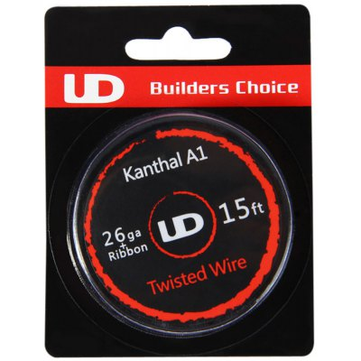Original Youde UD 26ga + Ribbon Kanthal A1 Twisted Wire
