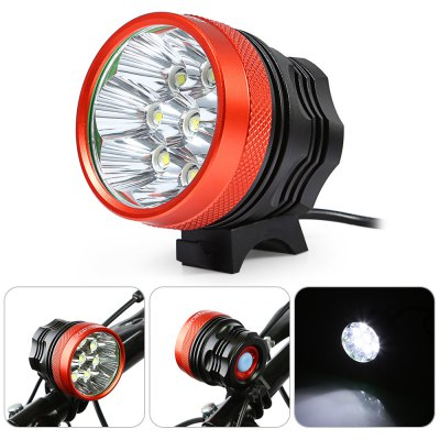DECAKER 8 LEDs Bicycle Front Llight