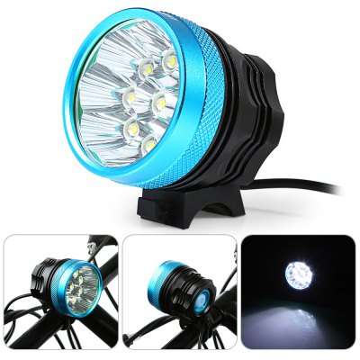 DECAKER XML - T6 9 LEDs Bicycle Front Light