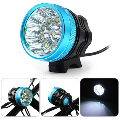 DECAKER XML - T6 10 LEDs Bicycle Front Light
