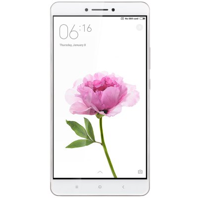 Xiaomi Mi Max 4G Phablet 64GB ROMCell phones<br>Xiaomi Mi Max 4G Phablet 64GB ROM<br><br>Brand: Xiaomi<br>Type: 4G Phablet<br>OS: MIUI 8<br>Service Provide: Unlocked<br>Language: Indonesian, Malay, German, English, Spanish, French, Polish, Portuguese, Romanian?Vietnamese, Turkish, Russian, Ukrainian, Hindi, Marathi, Czech, Gujarati, Odia, Urdu, Bengli, Thai, Burmese, Arabic, P<br>SIM Card Slot: Dual SIM,Dual Standby<br>SIM Card Type: Micro SIM Card,Nano SIM Card<br>CPU: Qualcomm Snapdragon 652 64bit<br>Cores: 1.8GHz,Octa Core<br>GPU: Adreno 510<br>RAM: 3GB RAM<br>ROM: 64GB<br>External Memory: TF card up to 128GB (not included)<br>Wireless Connectivity: 3G,4G,A-GPS,Bluetooth,GPS,GSM,WiFi<br>WIFI: 802.11a/b/g/n/ac wireless internet<br>Network type: FDD-LTE+WCDMA+GSM<br>2G: GSM 850/900/1800/1900MHz<br>3G: WCDMA 850/900/1900/2100MHz<br>4G: FDD-LTE 1800/2100/2600MHz<br>Screen type: 2.5D Arc Screen<br>Screen size: 6.44 inch<br>Screen resolution: 1920 x 1080 (FHD)<br>Camera type: Dual cameras (one front one back)<br>Back camera: 16.0MP,with flash light and AF<br>Front camera: 5.0MP<br>Video recording: Yes<br>Aperture: f/2.0<br>Auto Focus: Yes<br>Flashlight: Yes<br>Camera Functions: Face Beauty,Face Detection,HDR,Panorama Shot<br>Picture format: BMP,GIF,JPEG,PNG<br>Music format: AAC,AMR,MP3,WAV<br>Video format: ASF,MKV,MP4<br>MS Office format: Excel,PPT,Word<br>E-book format: PDF,TXT<br>I/O Interface: 1 x Micro SIM Card Slot,1 x Nano SIM Card Slot,3.5mm Audio Out Port,Micro USB Slot<br>Sensor: Accelerometer,Ambient Light Sensor,E-Compass,Gravity Sensor,Gyroscope,Hall Sensor,Proximity Sensor<br>Notification LED: Yes<br>Sound Recorder: Yes<br>Additional Features: 4G,Bluetooth,Browser,Calculator,Calendar,E-book,Fingerprint recognition,GPS,MP3,MP4,People,Sound Recorder,Video Call,Wi-Fi<br>Battery Capacity (mAh): 4850mAh<br>Battery Type: Non-removable<br>Cell Phone: 1<br>Power Adapter: 1<br>USB Cable: 1<br>SIM Needle: 1<br>Product size: 17.30 x 8.80 x 0.60 cm / 6.81 x 3.46 x 0.24 inches<br>Package size: 19.50 x 11.10 x 4.60 cm / 7.68 x 4.37 x 1.81 inches<br>Product weight: 0.203 kg<br>Package weight: 0.456 kg
