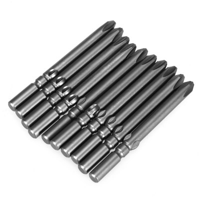 60MM S2 Alloy Steel Electric Magnetic Cross Screwdriver Bit for Installment
