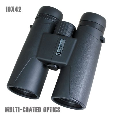 Kinglux BT2315 BinocularBinoculars and Telescopes<br>Kinglux BT2315 Binocular<br><br>Amplification Factor: 10<br>Brand: Kinglux<br>Color: Black<br>Exit pupil diameter: 4.2mm<br>Field Angle(degree): 5.6<br>Field of view: 98m<br>Focusing System: Center Focus<br>For: Hunting, Auto racing, Beach, Bird watching, Boating/Yachting, Horse racing, Outdoor activities, Travel, Sports, Theater<br>Material: Rubber<br>Objective Lens (mm) : 42<br>Optical Material: BK-7<br>Package Contents: 1 x Binocular, 1 x Storage Bag, 1 x Lens Cloth, 1 x User Manual<br>Package size (L x W x H): 23.00 x 13.00 x 16.00 cm / 9.06 x 5.12 x 6.3 inches<br>Package weight: 0.880 kg<br>Prism System: Roof System<br>Product size (L x W x H): 12.90 x 5.30 x 14.80 cm / 5.08 x 2.09 x 5.83 inches<br>Product weight: 0.500 kg<br>Type: Binoculars