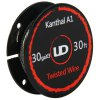 cheap Original Youde UD 30ga x 3 Kanthal A1 Twisted Wire