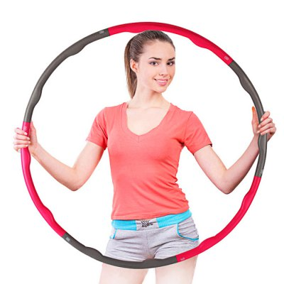 100cm Detachable Adult Hula HoopExercise Equipments<br>100cm Detachable Adult Hula Hoop<br><br>Color: Pink<br>Package Content: 1 x Detachable Hula Hoop<br>Package Size(L x W x H): 53.00 x 12.00 x 12.00 cm / 20.87 x 4.72 x 4.72 inches<br>Package weight: 1.7500 kg<br>Product Size(L x W x H): 100.00 x 100.00 x 2.00 cm / 39.37 x 39.37 x 0.79 inches