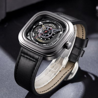 BUREI Sports Business Automatic Mechanical Men Watch