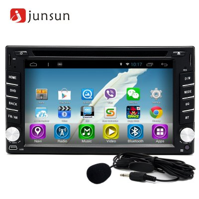 Junsun R166 Android 4.4 6.2 inch Car DVD Media Player