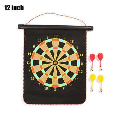 12 inch Magnet Dart Board Indoor Game Toy for Children