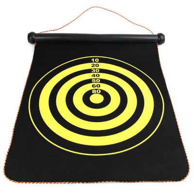 17 inch Magnet Dart Board Indoor Game Toy for ChildrenOutdoor Fun &amp; Sports<br>17 inch Magnet Dart Board Indoor Game Toy for Children<br><br>Materials: Cloth<br>Theme: Sport<br>Features: Creative Toy<br>Series: Entertainment<br>Package weight: 0.760 kg<br>Product size: 51.00 x 42.00 x 2.00 cm / 20.08 x 16.54 x 0.79 inches<br>Package size: 43.00 x 5.00 x 5.00 cm / 16.93 x 1.97 x 1.97 inches<br>Package Contents: 1 x Dart Board, 6 x Dart