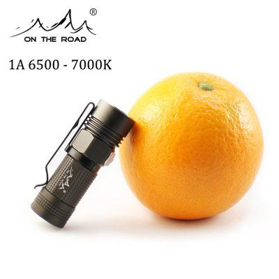 ON THE ROAD M3 920Lm Cree L2 U2 1A 16340 Pocket LED Flashlight for Kids