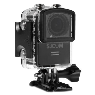 Gearbest Original SJCAM M20 2160P 16MP 166 Adjustable Degree WiFi Action Camera Sport DV Recorder  -  BLACK