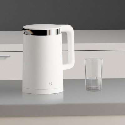Original Xiaomi Mi Electric Water Kettle - 1.5LElectric Kettle<br>Original Xiaomi Mi Electric Water Kettle - 1.5L<br><br>Brand: Xiaomi<br>Frequency: 50Hz<br>Material: PP, Stainless Steel, Electronic Components<br>Package Contents: 1 x Original Xiaomi Mi Electric Kettle, 1 x Charging Base<br>Package size (L x W x H): 25.00 x 16.00 x 26.00 cm / 9.84 x 6.3 x 10.24 inches<br>Package weight: 1.610 kg<br>Power (W): 1800W<br>Product weight: 1.240 kg<br>Voltage (V): 220V<br>Water Tank Capacity (ml): 1.5L