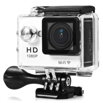 W9R 1080P Full HD 2.0MP 170 Degree WiFi Action Camera
