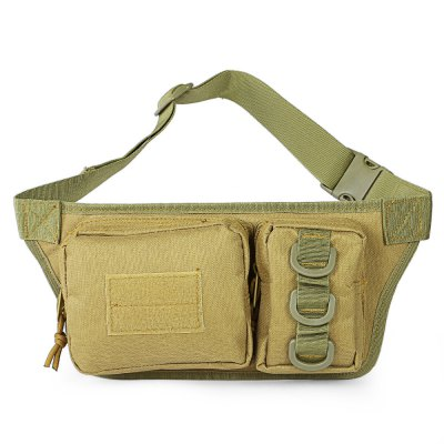 CTSmart 2L Waist BagWaistpacks<br>CTSmart 2L Waist Bag<br><br>Brand: CTSmart<br>For: Cycling,Hiking,Mountaineering,Sports<br>Material: Nylon<br>Oxford Material: 600D Oxford<br>Features: Tactical Style<br>Capacity: 1 - 10L<br>Color: Black,Camouflage,Khaki<br>Product weight: 0.222 kg<br>Package weight: 0.272 kg<br>Product size (L x W x H): 36.00 x 6.00 x 15.50 cm / 14.17 x 2.36 x 6.1 inches<br>Package size (L x W x H): 37.00 x 17.00 x 2.50 cm / 14.57 x 6.69 x 0.98 inches<br>Package Contents: 1 x CTSmart Travel Waist Bag