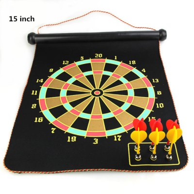 15 inch Magnet Dart Board Indoor Game Toy for Children