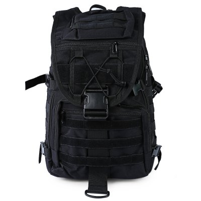 CTSmart 40L BackpackBackpacks<br>CTSmart 40L Backpack<br><br>Bag Capacity: 40L<br>Brand: CTSmart<br>Capacity: 31 - 40L<br>Color: Black,Camouflage,Khaki<br>Features: Tactical Style<br>For: Tactical, Camping, Climbing, Cycling, Traveling<br>Material: Nylon<br>Package Contents: 1 x CTSmart Travel Backpack<br>Package size (L x W x H): 55.00 x 36.00 x 3.50 cm / 21.65 x 14.17 x 1.38 inches<br>Package weight: 1.230 kg<br>Product weight: 1.150 kg<br>Type: Backpack