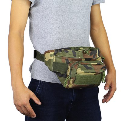 CTSmart 2L Waist BagWaistpacks<br>CTSmart 2L Waist Bag<br><br>Brand: CTSmart<br>Capacity: 1 - 10L<br>Color: Black,Camouflage,Khaki<br>Features: Tactical Style<br>For: Hiking, Cycling, Sports, Mountaineering<br>Material: Nylon<br>Package Contents: 1 x CTSmart Waist Bag<br>Package size (L x W x H): 31.00 x 19.00 x 3.00 cm / 12.2 x 7.48 x 1.18 inches<br>Package weight: 0.276 kg<br>Product size (L x W x H): 34.00 x 14.00 x 18.00 cm / 13.39 x 5.51 x 7.09 inches<br>Product weight: 0.226 kg