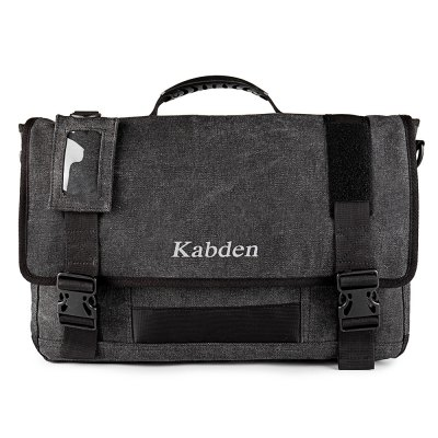 Kabden 8601 Canvas Sling BagSling Bag<br>Kabden 8601 Canvas Sling Bag<br><br>Bag Capacity: 10L<br>Brand: Kabden<br>Capacity: 1 - 10L<br>Color: Army green,Black<br>For: Cycling, Casual, Travel, Hiking<br>Material: Canvas<br>Package Contents: 1 x Kabden 8601 Shoulder Bag<br>Package size (L x W x H): 45.00 x 28.00 x 5.00 cm / 17.72 x 11.02 x 1.97 inches<br>Package weight: 0.750 kg<br>Product size (L x W x H): 44.00 x 29.00 x 8.50 cm / 17.32 x 11.42 x 3.35 inches<br>Product weight: 0.700 kg<br>Type: Shoulder bag