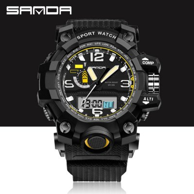 Sanda 732 Men LED Sports Watch