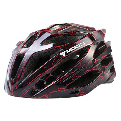 MOON M27 Bicycle HelmetBike Helmets<br>MOON M27 Bicycle Helmet<br><br>Material: EPS + PC<br>Suitable for: Cross-Country Cycling,Electric Bicycle,Fixed Gear Bicycle,Mountain Bicycle,Road Bike,Touring Bicycle<br>Features: Detachable Sun Visor<br>Product weight: 0.245 kg<br>Packge Weight: 0.310 kg<br>Product Dimension: 30.00 x 22.00 x 13.00 cm / 11.81 x 8.66 x 5.12 inches<br>Package Contents: 1 x MOON M27 Bicycle Helmet, 1 x Sun Visor, 1 x English / Chinese User Manual