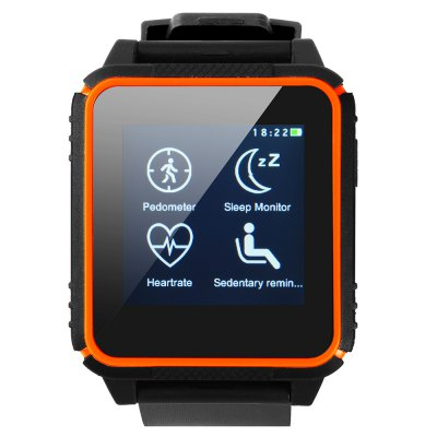 SOCOOLE W08 Swimming Smartwatch PhoneSmart Watch Phone<br>SOCOOLE W08 Swimming Smartwatch Phone<br><br>Type: Watch Phone<br>CPU: MTK2502<br>Cores: Cortex-A8<br>External Memory: Not Supported<br>Wireless Connectivity: Bluetooth,GSM<br>Network type: GSM<br>Frequency: GSM850/900/1800/1900MHz<br>Bluetooth: Yes<br>Bluetooth Version: V3.0,V4.0<br>Screen type: Capacitive,IPS<br>Screen size: 1.54 inch<br>Screen resolution: 240 x 240<br>Camera type: No camera<br>SIM Card Slot: Single SIM(Micro SIM slot)<br>Micro USB Slot: Yes<br>Speaker: Supported<br>Picture format: JPEG<br>Languages: English, French, Italian, Spanish, Polish, Portuguese, German, Dutch, Turkish, Russian, Arabic, Greek<br>Additional Features: Alarm,Bluetooth,Calculator...,Calendar,People<br>Cell Phone: 1<br>Charging Dock: 1<br>Battery: Built-in 300mAh Battery<br>USB Cable: 1<br>Product size: 4.85 x 4.35 x 1.30 cm / 1.91 x 1.71 x 0.51 inches<br>Package size: 11.00 x 11.00 x 9.00 cm / 4.33 x 4.33 x 3.54 inches<br>Product weight: 0.054 kg<br>Package weight: 0.200 kg