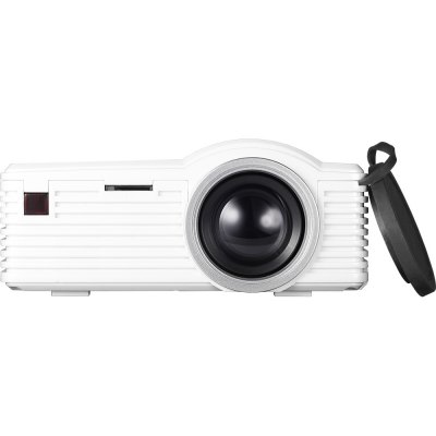 SD20 LCD ProjectorProjectors<br>SD20 LCD Projector<br><br>3D: No<br>Aspect ratio: 16:9 / 4:3<br>Battery Capacity: 700mAh<br>Battery Type: Lithium-ion battery<br>Bluetooth: Unsupport<br>Brightness: 40 Lumens<br>Built-in Speaker: Yes<br>Certificate: CE,FCC,RoHs<br>Color: Black,Purple,White<br>Contrast Ratio: 500:1<br>Display type: LCD<br>DVB-T Supported: Yes<br>External Subtitle Supported: Yes<br>Image Scale: 16:9,4:3<br>Image Size: 13 - 60 inch<br>Interface: USB, TF Card Slot, HDMI, DC Port, AV<br>Lamp: LED<br>Lamp Life: Over 20 thousand hours<br>Material: Plastic<br>Model: SD20<br>Native Resolution: 320 x 180<br>Package Contents: 1 x SD20 LCD Projector, 1 x Audio Cable, 1 x Remote Control, 1 x Power Adapter<br>Package size (L x W x H): 20.00 x 8.00 x 15.50 cm / 7.87 x 3.15 x 6.1 inches<br>Package weight: 0.6000 kg<br>Power Supply: 5V<br>Product size (L x W x H): 11.70 x 8.40 x 4.30 cm / 4.61 x 3.31 x 1.69 inches<br>Product weight: 0.2300 kg<br>Projection Distance: 0.5 - 2.5 m<br>Resolution Support: 1920 x 1080