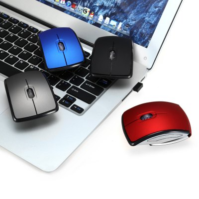 A910 Foldable 2.4GHz Wireless Optical Mouse Compatible with Windows and Mac OS