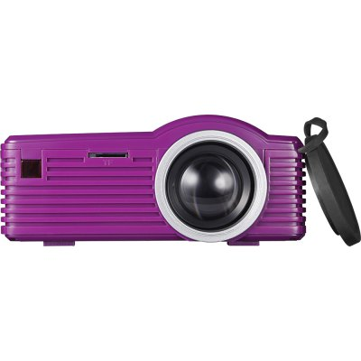 SD20 LCD ProjectorProjectors<br>SD20 LCD Projector<br><br>3D: No<br>Aspect ratio: 16:9 / 4:3<br>Battery Capacity: 700mAh<br>Battery Type: Lithium-ion battery<br>Bluetooth: Unsupport<br>Brightness: 40 Lumens<br>Built-in Speaker: Yes<br>Certificate: CE,FCC,RoHs<br>Color: Black,Purple,White<br>Contrast Ratio: 500:1<br>Display type: LCD<br>DVB-T Supported: Yes<br>External Subtitle Supported: Yes<br>Features: 1080P<br>Function: DVB-T, Speaker, External Subtitle<br>Image Scale: 16:9,4:3<br>Image Size: 13 - 60 inch<br>Interface: USB, TF Card Slot, HDMI, DC Port, AV<br>Lamp: LED<br>Lamp Life: Over 20 thousand hours<br>Material: Plastic<br>Model: SD20<br>Native Resolution: 320 x 180<br>Package Contents: 1 x SD20 LCD Projector, 1 x Audio Cable, 1 x Remote Control, 1 x Power Adapter<br>Package size (L x W x H): 20.00 x 8.00 x 15.50 cm / 7.87 x 3.15 x 6.1 inches<br>Package weight: 0.6000 kg<br>Power Supply: 5V<br>Product size (L x W x H): 11.70 x 8.40 x 4.30 cm / 4.61 x 3.31 x 1.69 inches<br>Product weight: 0.2300 kg<br>Projection Distance: 0.5 - 2.5 m<br>Resolution Support: 1920 x 1080