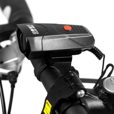 LEADBIKE A14 Electronic HornBike Bells and Locks<br>LEADBIKE A14 Electronic Horn<br><br>Brand: LEADBIKE<br>Color: Black<br>Installation location: Handlebar<br>Package Contents: 1 x LEADBIKE A14 Electronic Horn, 1 x Bracket, 1 x Cross Screwdriver<br>Package size (L x W x H): 18.00 x 12.50 x 4.00 cm / 7.09 x 4.92 x 1.57 inches<br>Package weight: 0.120 kg<br>Product size (L x W x H): 3.50 x 4.50 x 9.00 cm / 1.38 x 1.77 x 3.54 inches<br>Type: Bell
