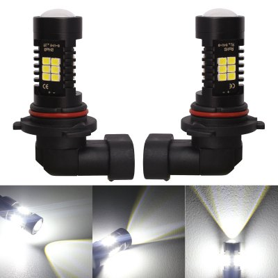 9006 - 2835 - 21SMD 2PCS LED Car Foglight