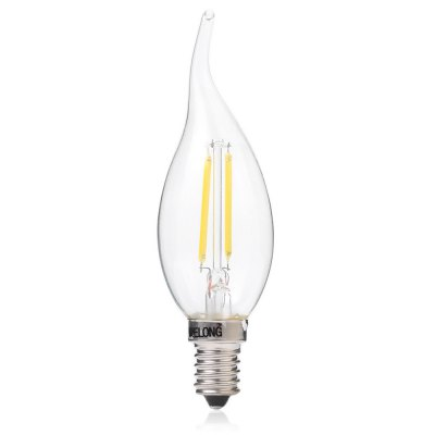 BRELONG Bent Tip LED Candle Bulb