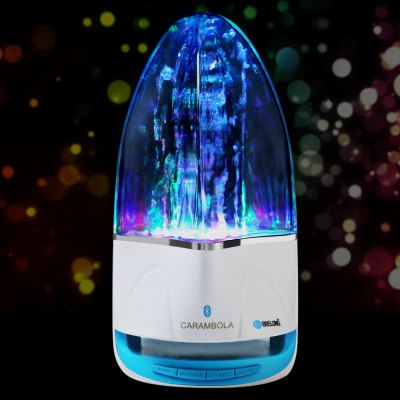 BRELONG Bluetooth Music Fountain Sprinkler Table Decorative Lamp
