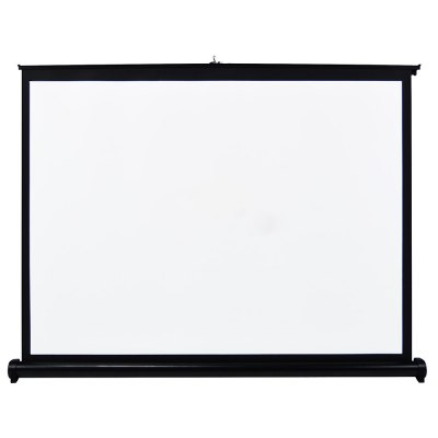 Folding Table-top Projection ScreenProjectors<br>Folding Table-top Projection Screen<br><br>Package Contents: 1 x Projection Screen<br>Package size (L x W x H): 9.50 x 9.50 x 125.20 cm / 3.74 x 3.74 x 49.29 inches<br>Package weight: 1.860 kg<br>Product size (L x W x H): 110.70 x 62.30 x 0.01 cm / 43.58 x 24.53 x 0 inches<br>Product weight: 1.800 kg