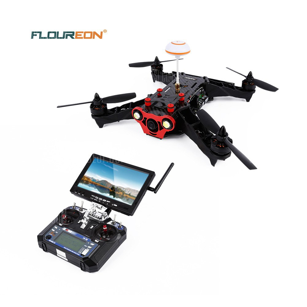 Floureon Racer 250 6CH Racing Drone FPV 6 Axis Gyro Drone