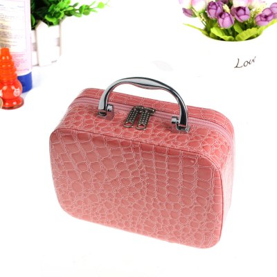 Crocodile Cosmetic Makeup Box