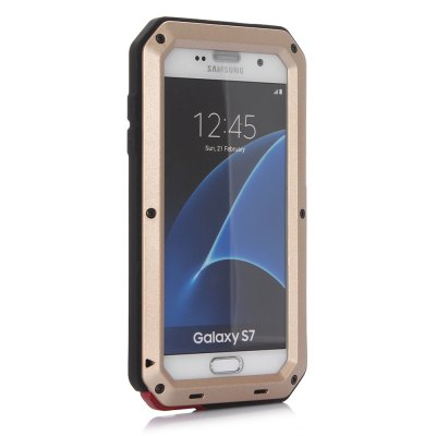 Aluminum Alloy Full Body Protective Case for Samsung Galaxy S7