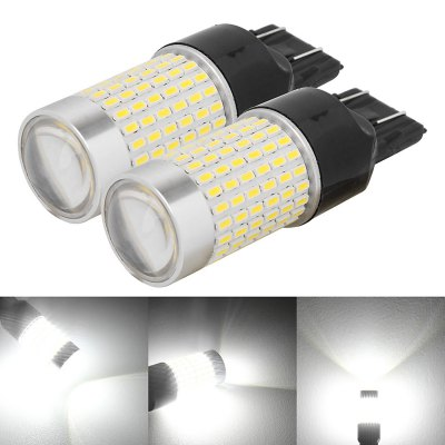 2Pcs MZ 7443 - 3014 - 144SMD Car Brake Light