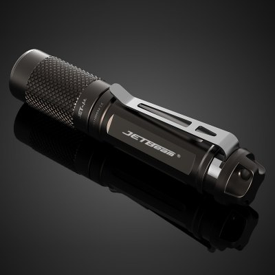 Jetbeam JET - u AAA LED FlashlightLED Flashlights<br>Jetbeam JET - u AAA LED Flashlight<br><br>Brand: JETBeam<br>Model: JET-u<br>Lamp Beads: Cree XP-G2<br>Beads Number: 1<br>Lumens Range: 1-200Lumens<br>Luminous Flux: 135LM<br>Luminous Intensity: 518cd<br>Power: 1W<br>Color Temperature: 6500-7000K<br>Switch Type: Twisty<br>Feature: Lightweight,Pocket Clip,Tail Stand<br>Function: Camping,EDC,Hiking,Household Use,Night Riding,Walking<br>Battery Type: AAA<br>Battery Quantity: 1 x AAA battery (not included)<br>Mode: 3 (High &gt; Mid &gt; Low)<br>Mode Memory: Yes<br>Waterproof Standard: IPX-8 Standard Waterproof (Underwater 2m)<br>Power Source: Battery<br>Working Voltage: 1.5V<br>Lens: Optical Lens<br>Impact Resistance: 1M<br>Beam Distance: 0-50m<br>Flashlight Processing Technology: Aerospace Grade Aluminum Body with Anti Scratching Type III Hard Anodization<br>Available Light Color: Cool White<br>Available color: Grey<br>High Mode: 0.8h 135LM<br>Mid Mode: 4.3h 25LM<br>Low Mode: 35h 1.5LM<br>Max.: 35h<br>Product weight: 0.013 kg<br>Package weight: 0.065 kg<br>Product size (L x W x H): 7.04 x 1.48 x 1.48 cm / 2.77 x 0.58 x 0.58 inches<br>Package size (L x W x H): 10.00 x 16.00 x 3.00 cm / 3.94 x 6.3 x 1.18 inches<br>Package Contents: 1 x Jetbeam JET-u LED Flashlight, 1 x English Manual
